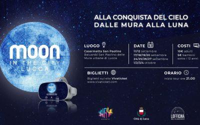 A Lucca lo sbarco sulla Luna in un tour virtuale
